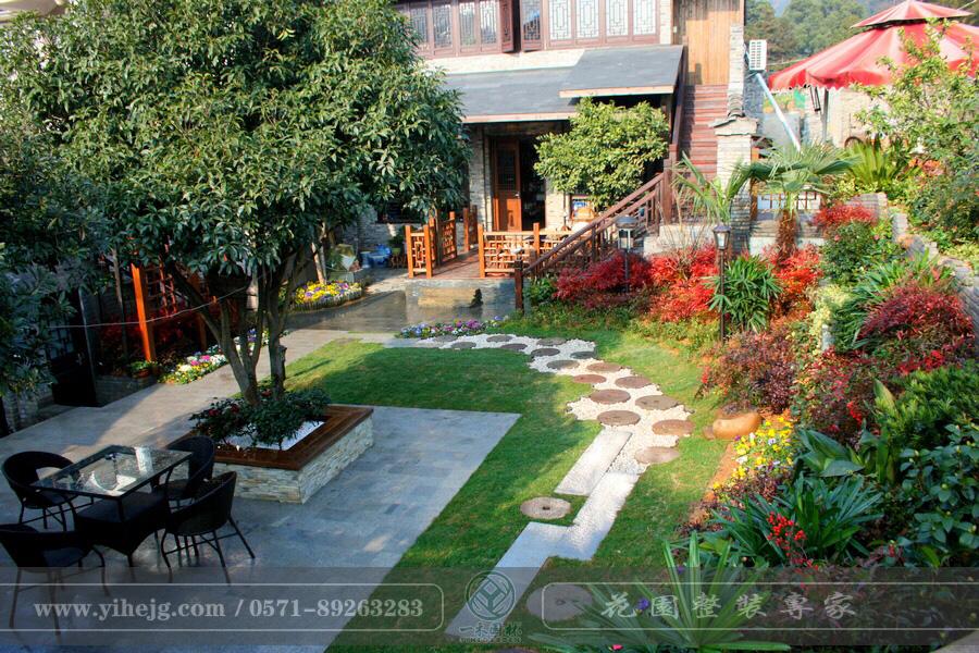 大清谷庭院景观设计|乡村庭院景观绿化|私家庭院花园