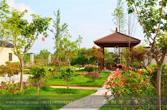 德清乡村庭院景观设计 农村庭院景观绿化 私家庭院规划设计施工