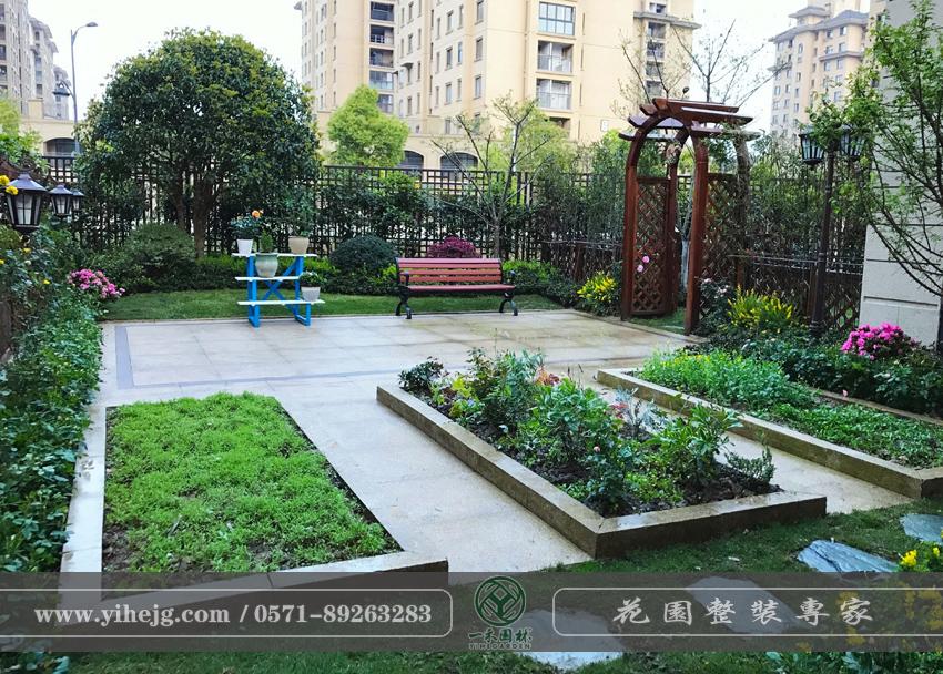 万科溪望庭院绿化设计