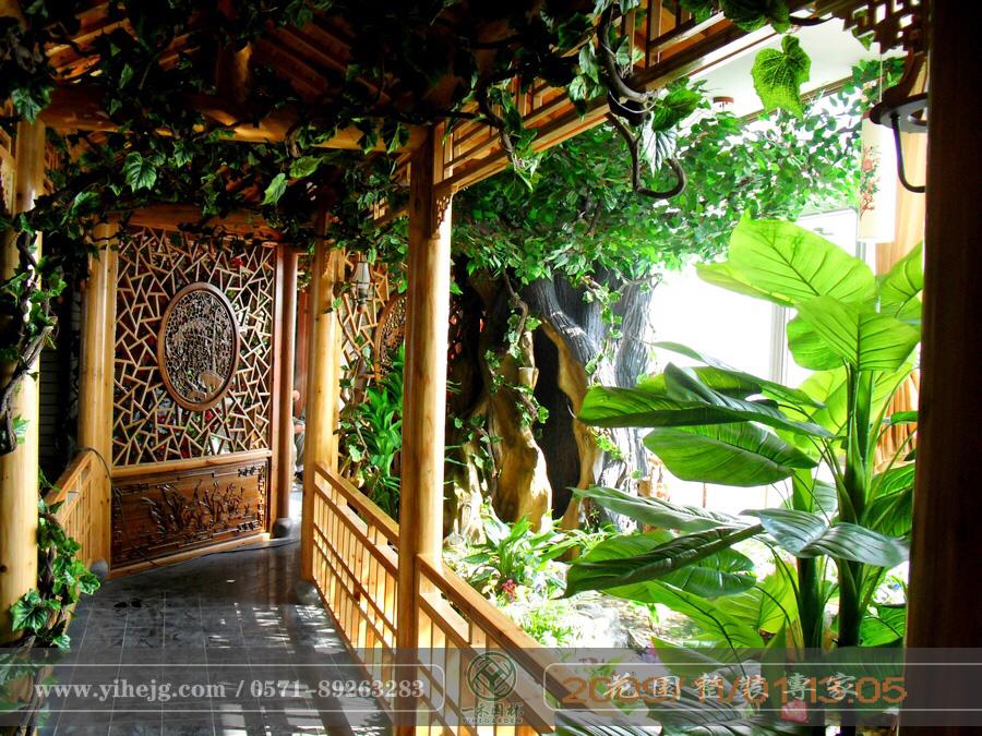 扬州金阳光花园景观设计|屋顶花园景观绿化|露台假山水溪景观设计