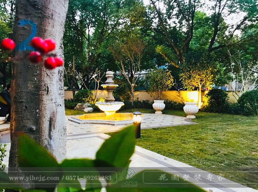 杭州大华西溪观止私家庭院景观设计|别墅花园改造|庭院花园景观施工
